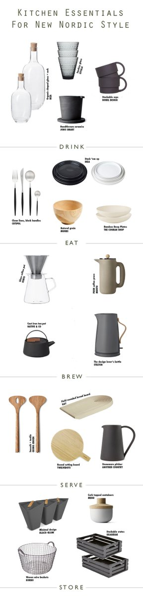 My essential kitchen accessories shopping guide for New Nordic style https://t.co/adP1YKrpk8 https://t.co/oHDCnJxNYP