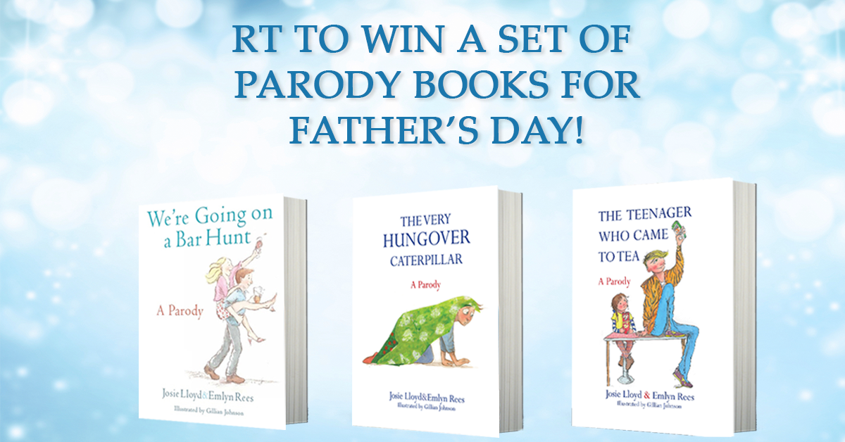 For Father's Day - RT for chance to win 3 signed copies for Dad! AND a bottle of fizz. #competition ends Monday. https://t.co/R6Kgj9g6CD
