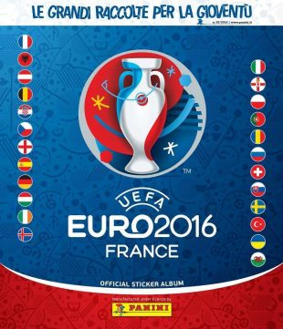 "Figurine Panini Extra per gli Azzurri in ""UEFA EURO 2016"""