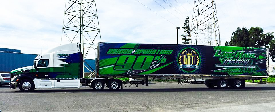 Company Driver Al Smith in beautiful CA yesterday! #driverswanted