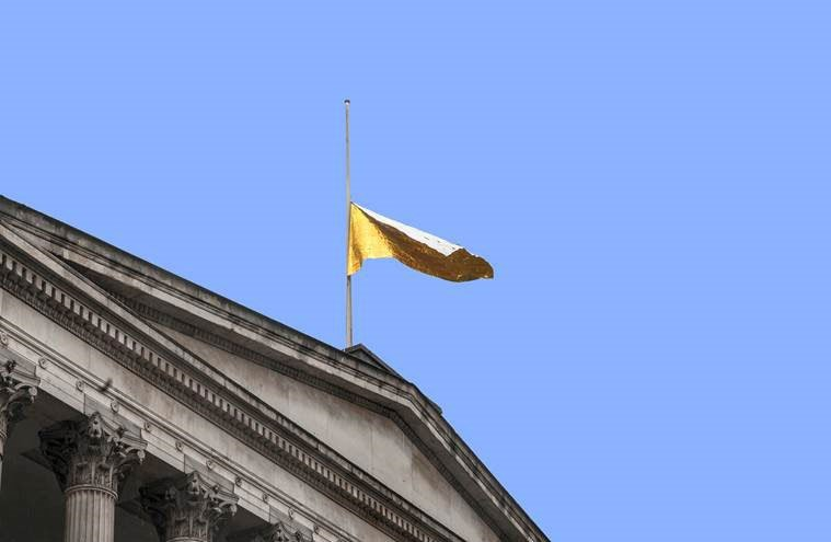 'The New EU Flag': art installation at UCL