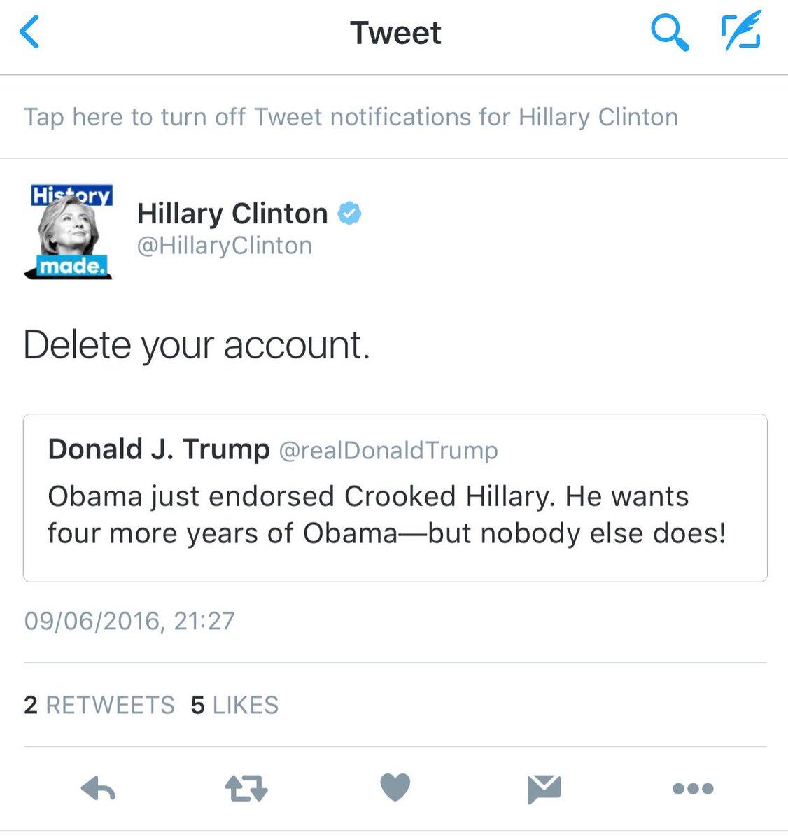 @HillaryClinton @realDonaldTrump play nice children.