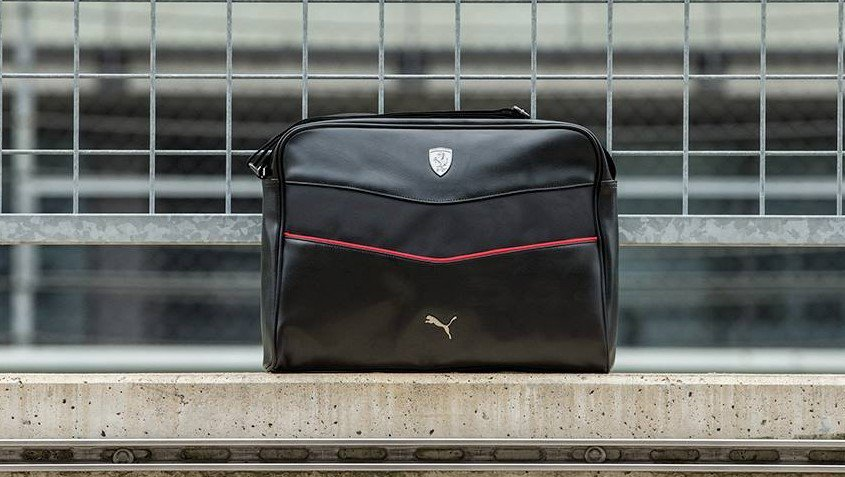 da42477eda Stylish and sportly the  PUMA  Ferrari lifestyle bag is ideal for  travelling or leisure time ...