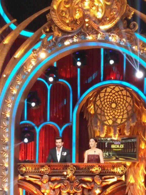 Gauahar Khan, Jay Bhanushali,host,Zee Gold Awards 2016,Boroplus Gold Awads