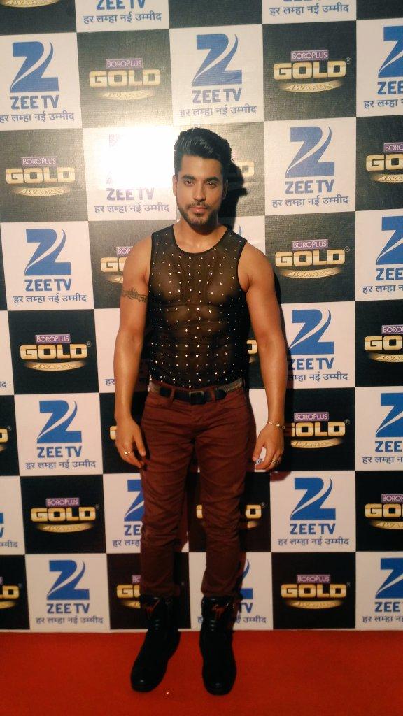 Gautam Gulati at Zee Gold Awards