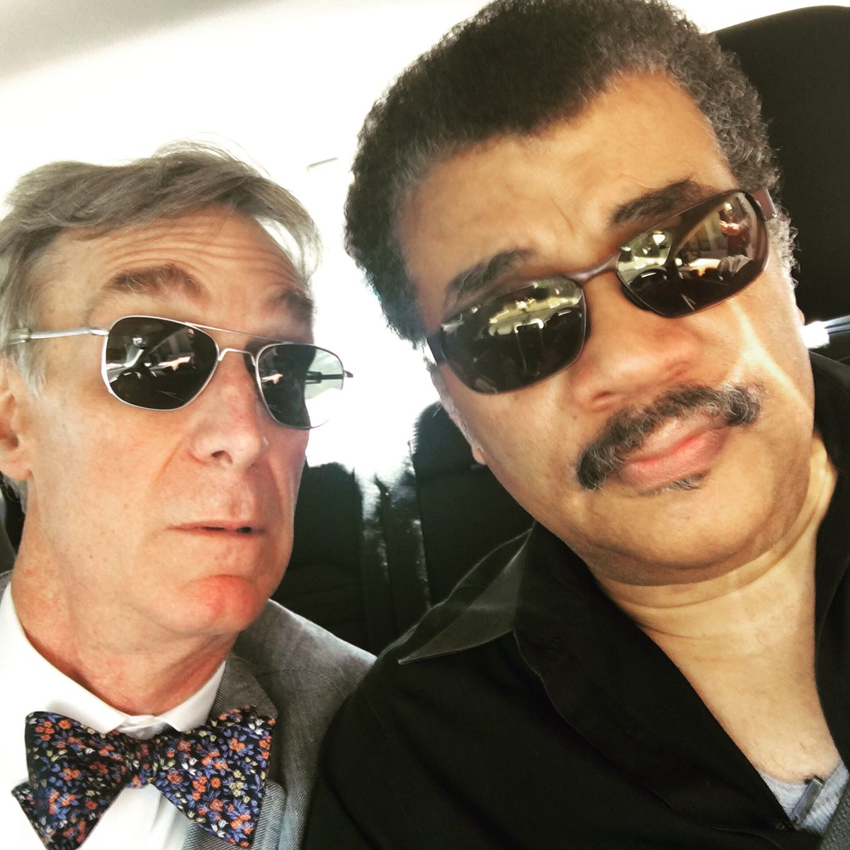 Don't ever let them tell you science isn't cool. @neiltyson