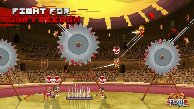 Epic Flail brings hectic high-flying gladiatorial battles to iOS and Android, out now: https://t.co/4fWr5LT6Iw https://t.co/OJTUWXKmBQ