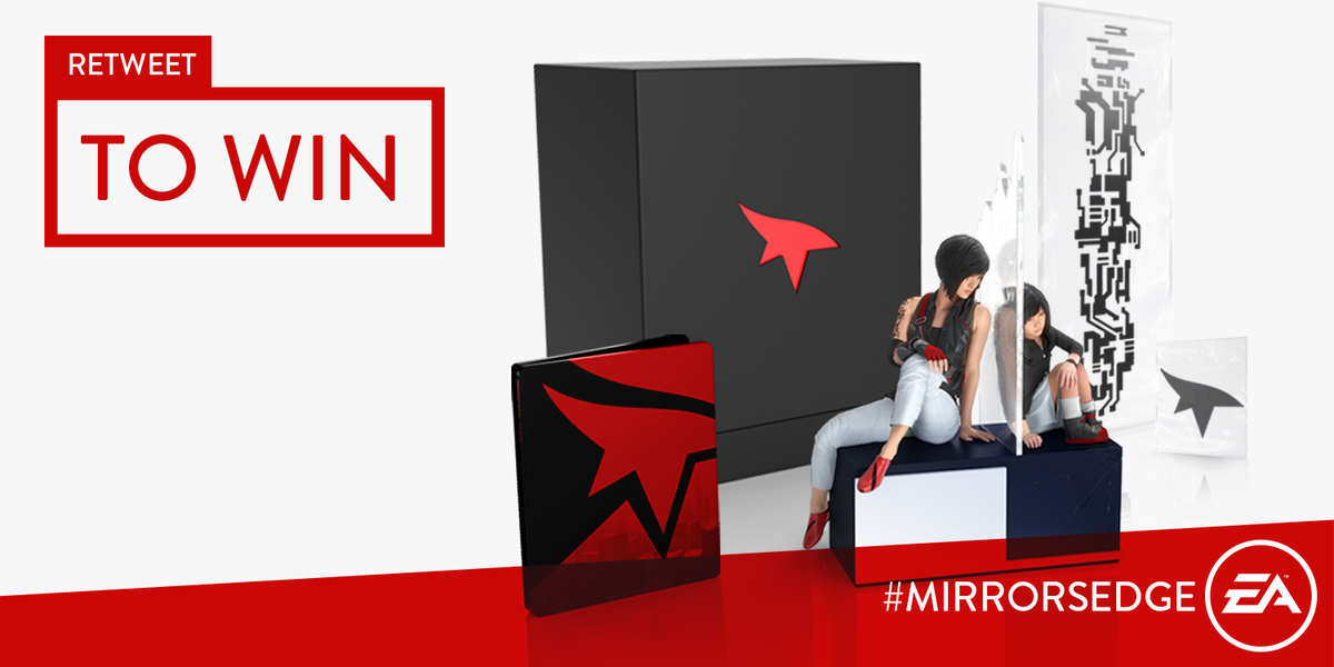 RETWEET for a chance to win a Mirror's Edge: Catalyst Collector's Edition - Out Today! https://t.co/2Q6z3Ia40i https://t.co/y7tFULZqxU