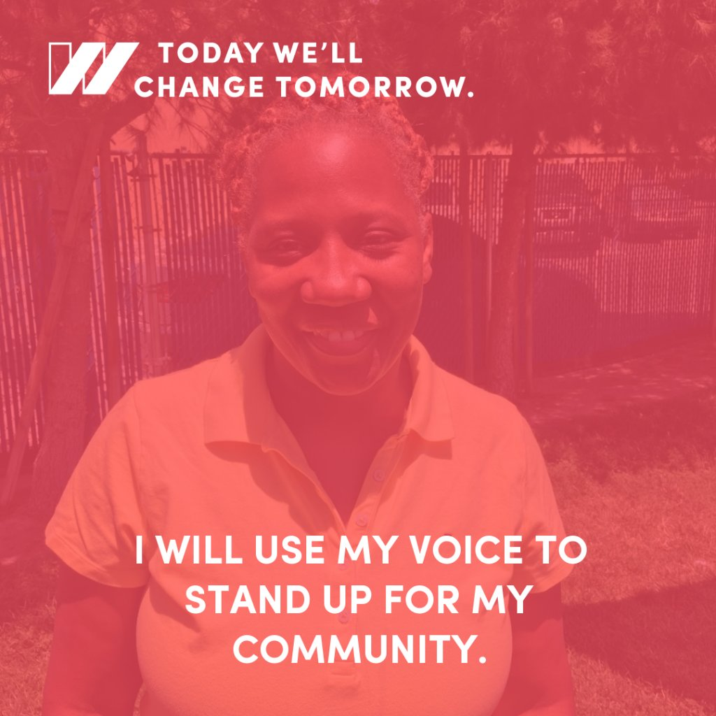 #Childcare wrkr Sandra pledges 2 lift up her community by investing in #ChildCareForAll & #FightFor15 #StateOfWomen https://t.co/JzEqb6pH85