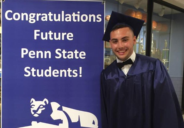 Psu Graduation 2020.Penn State Fayette On Twitter David D Antonio Class Of
