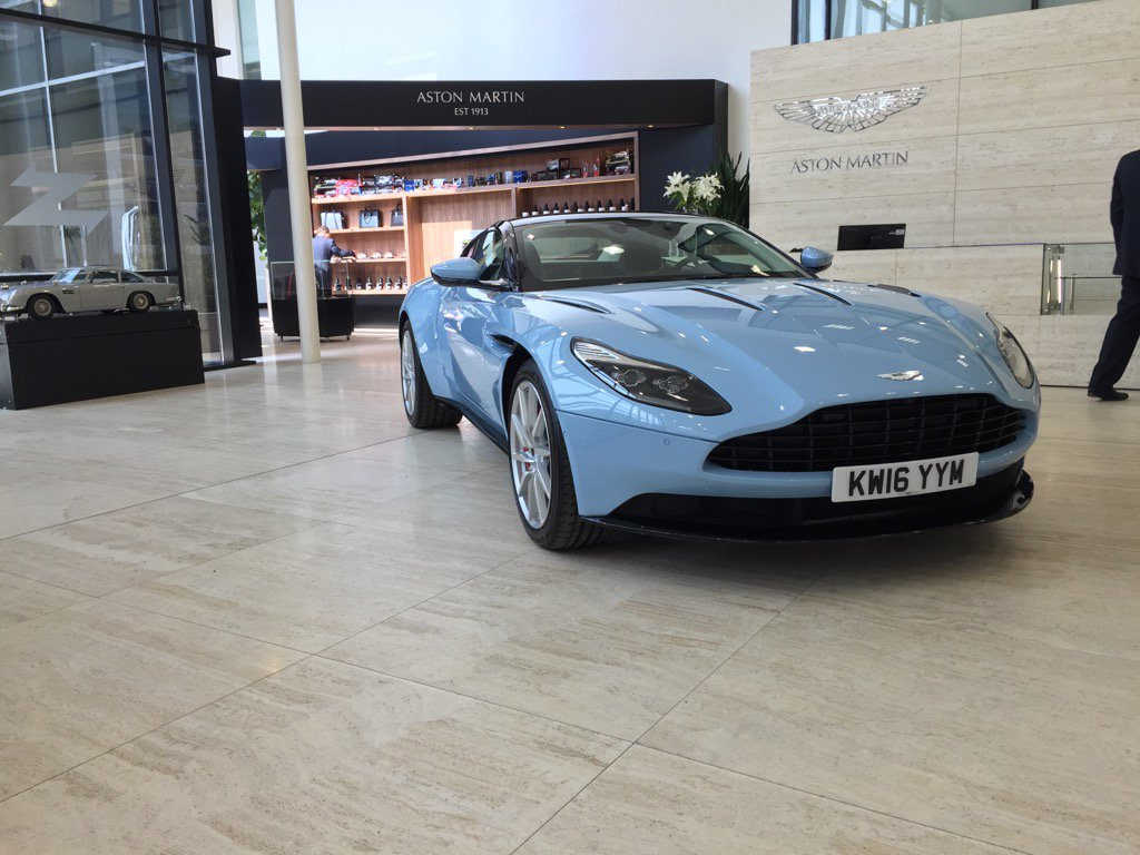 "hwm_astonmartin on twitter: ""db11 in frosted glass blue looking"