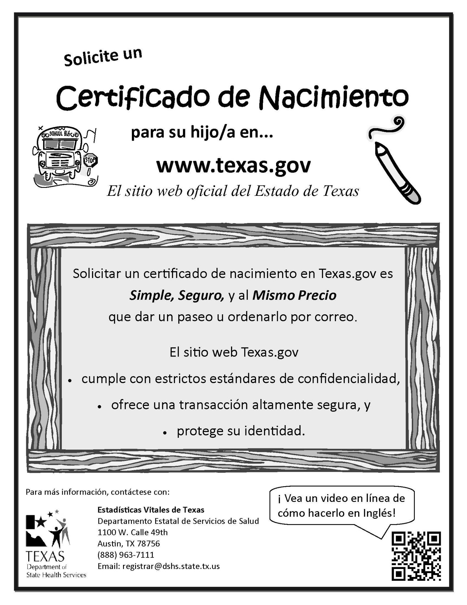 Unique pics of texas gov birth certificate business cards and ems isd on need a copy of your child s birth certificate aiddatafo Image collections