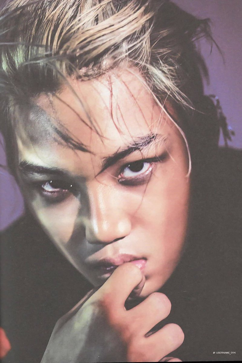 On Twitter SCAN KAI EXO EXACT Monster Chinese Ver Cusername 0114