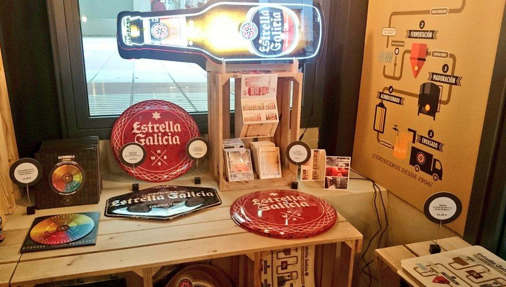 fb7686412  Coruña - Inaugurada la primera tienda de merchandising de Estrella Galicia  en Cuatro Caminospic.twitter.com o0z5NHj7hc