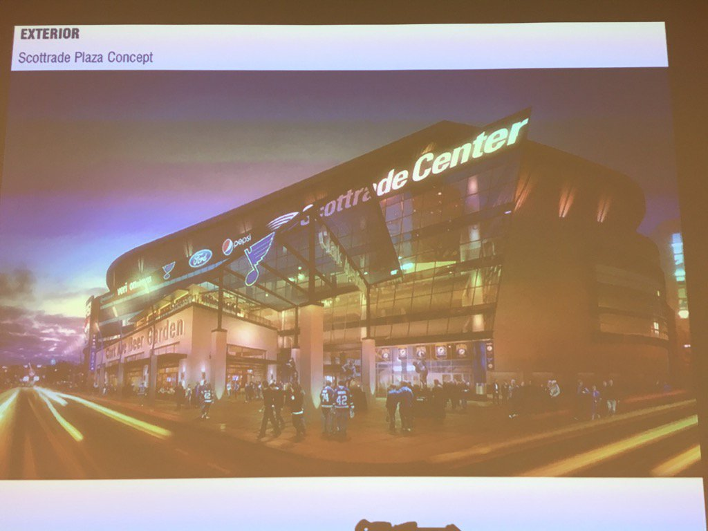 Jacob Kirn On Twitter First Glimpse Of A Scottrade Center