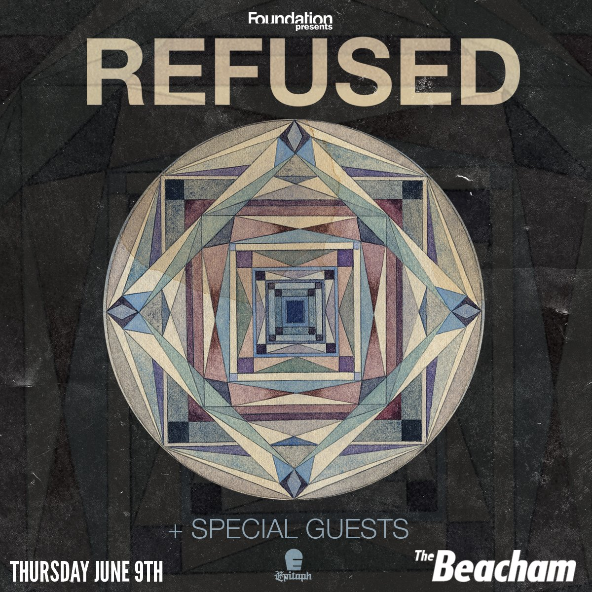 LAST MINUTE GIVEAWAY: RETWEET & WIN a pair of tickets to @Refused TONIGHT at The Beacham! https://t.co/bCytjU5MCl https://t.co/H9WaBrM0NL