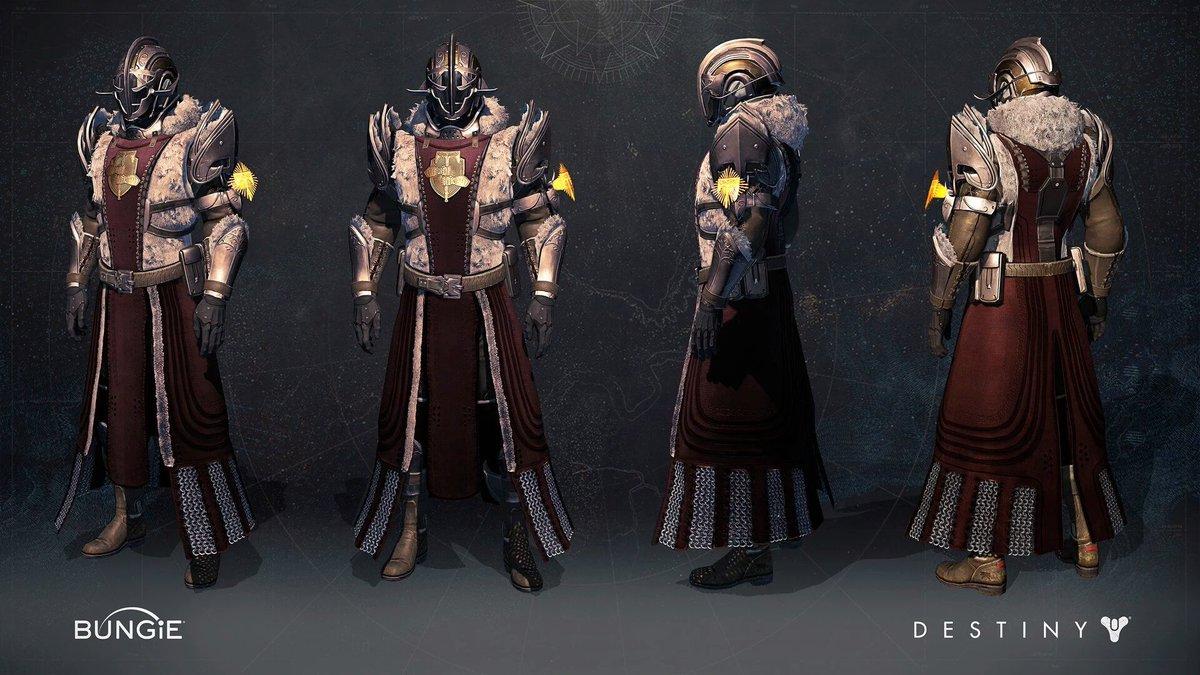 Warlock Rise Of Iron Armor