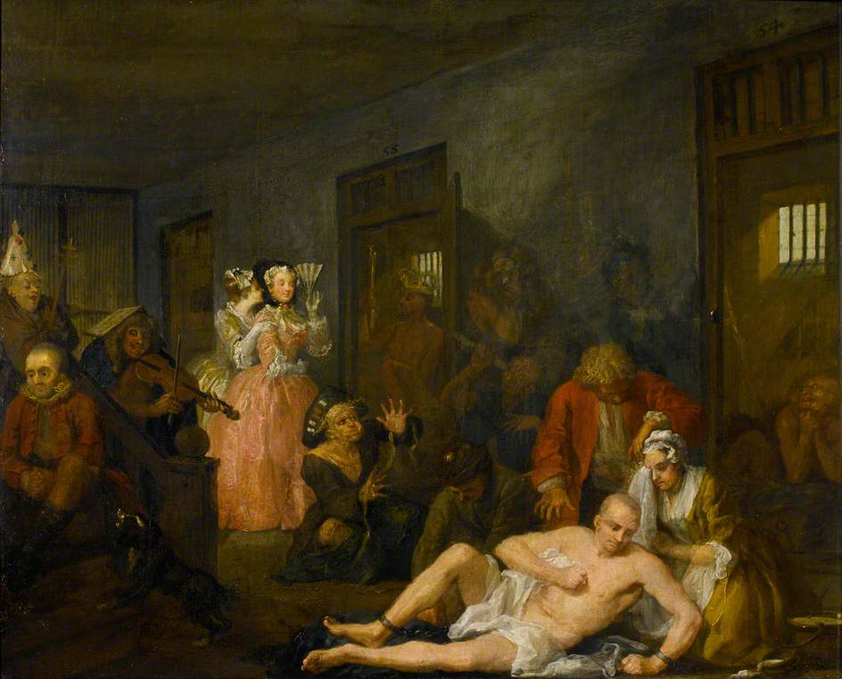 'Among the generic tropes of madmen' Day 1 of #LftL starts w #Hogarth's @SoaneMuseum painting of old @bethlemmuseum https://t.co/1F7anVNj2k