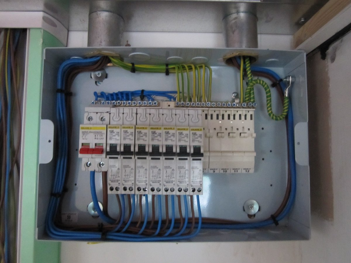 Graham Yewdall Electricsuk Twitter Wiring Distribution Board Uk 0 Replies Retweets Likes
