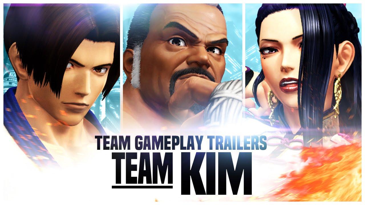 King of Fighters XIV: Team Kim Trailer / Gang Li Reveal   NeoGAF