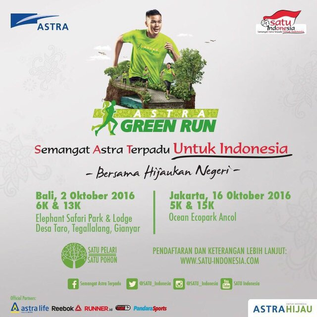 Astra Green Run Jakarta 2016