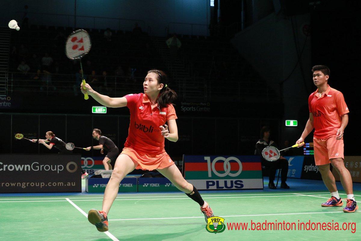"BADMINTON INDONESIA on Twitter ""Praveen Jordan Debby Susanto"