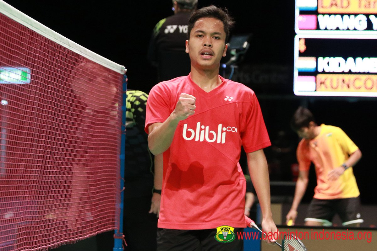 "BADMINTON INDONESIA on Twitter ""Anthony Sinisuka Ginting"