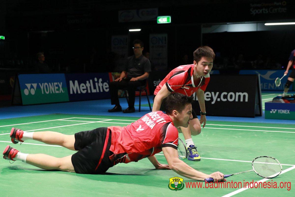 "BADMINTON INDONESIA on Twitter ""Kevin Sanjaya Sukamuljo Marcus"