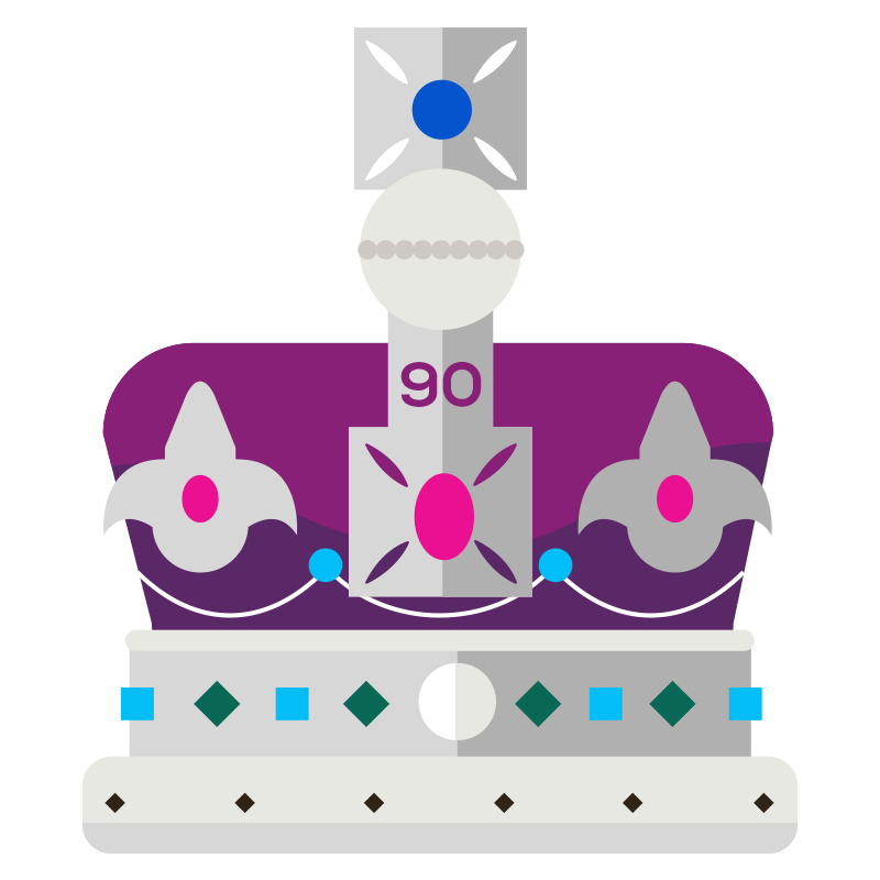 The Queen's 90th, rain clouds and an emoji cloud — Blurrt