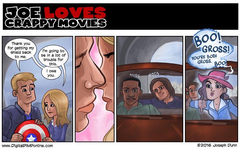 I'm team #AgentCarter. https://t.co/vUjVAKu7vV #joelovescrappymovies #teamcap #avengers https://t.co/6mYBZ1Q73w