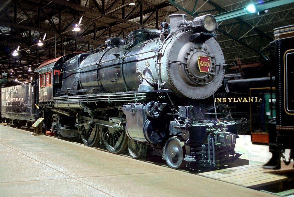 Image result for PRR atlantic locomotive restored