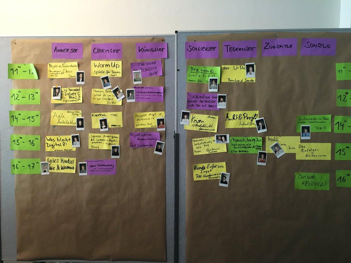 Session-Plan #PMCampMUC #AufdemWeg https://t.co/1vY6LBwDpE