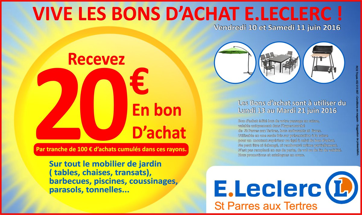 Eleclerc Troyes On Twitter Vive Les Bons Dachat Https