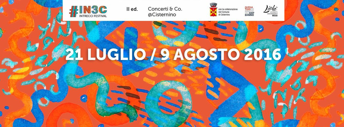 #IN3C #festival 21/07-09/08 #intreccifestival #cisternino #liolaeventi #secondaedizione #livemusic #puglia https://t.co/1XRXnMBG7J