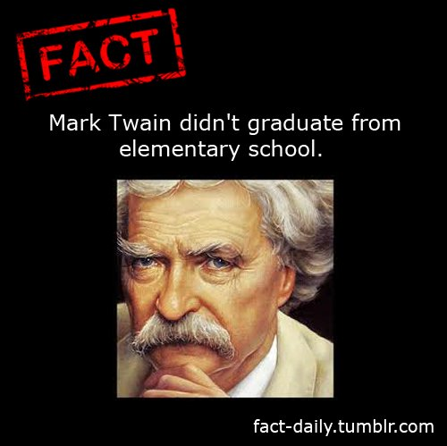 #FridayFunFact #BigData #IoT #OilandGas #Petroleum #Fuel #marktwain #school #oxford #doctorate #education #library https://t.co/gZDzpTMTgH