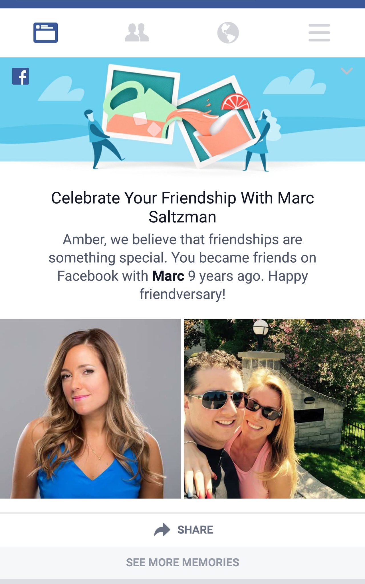 how can you see friendships on facebook