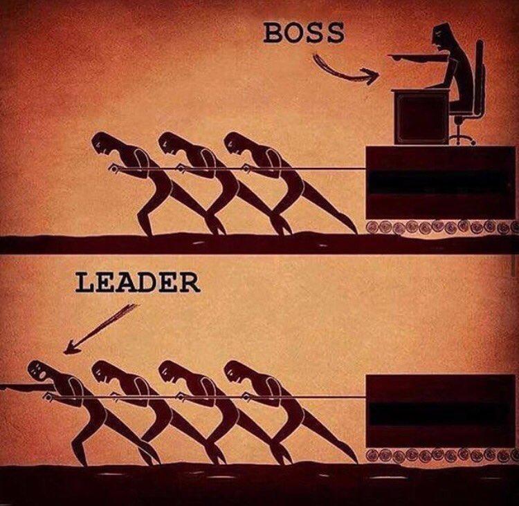 نتيجة بحث الصور عن الفرق بين القائد والمدير