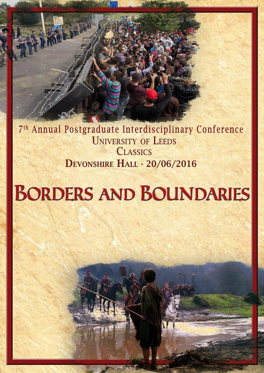 10 days to #LeedsBound16 postgrad. interdisciplinary conference - registered yet? It's free https://t.co/NgK732uujI https://t.co/iB0kru8c0w