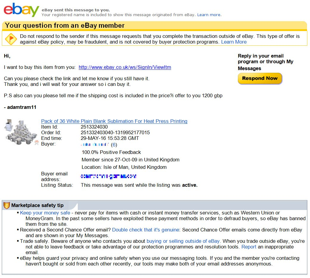 Action Fraud On Twitter Fraudfriday Scam With Bbcwatchdog Multiple Reports Of This Ebay Phishing Email That Could Catch Out Regular Users