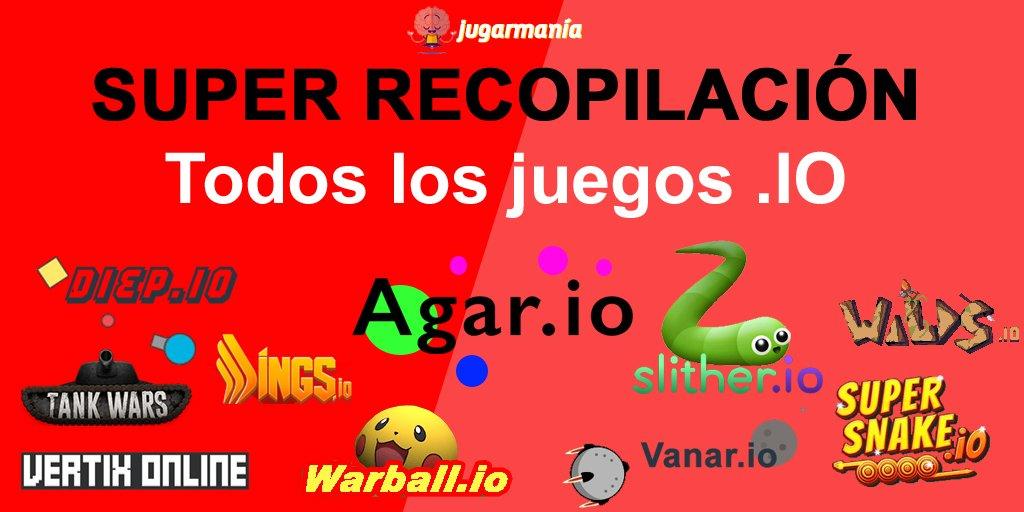 Jugarmania On Twitter Top De 10 Juegos Io Descubrelos Todos