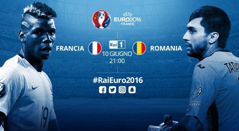 Euro 2016 in Diretta TV: Oggi si gioca Francia-Romania