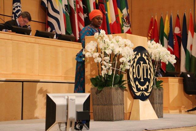 #Employers spokesperson Lindiwe Sephomolo makes her closing statement to the #ILC2016 Plenary https://t.co/VK56EF417s