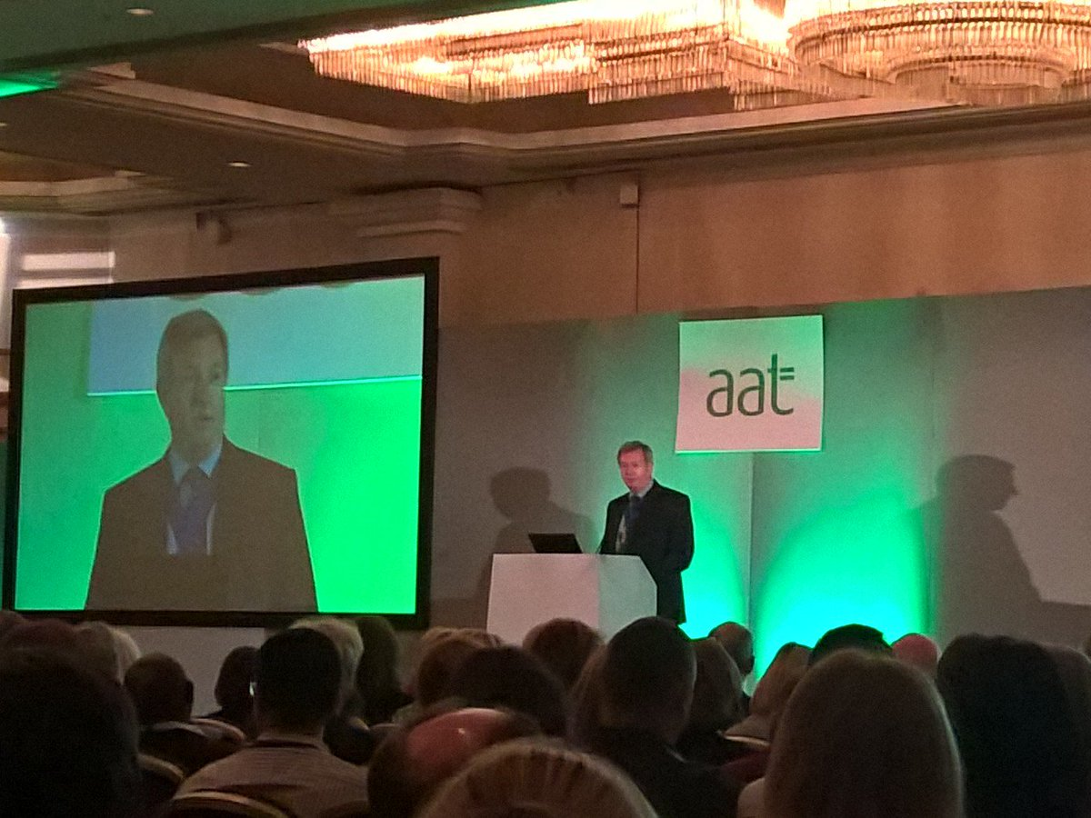 """We aim to empower, educate & enable people to reach their potential"" Mark McBride, AAT President #AATConference https://t.co/quJWPZQ23f"