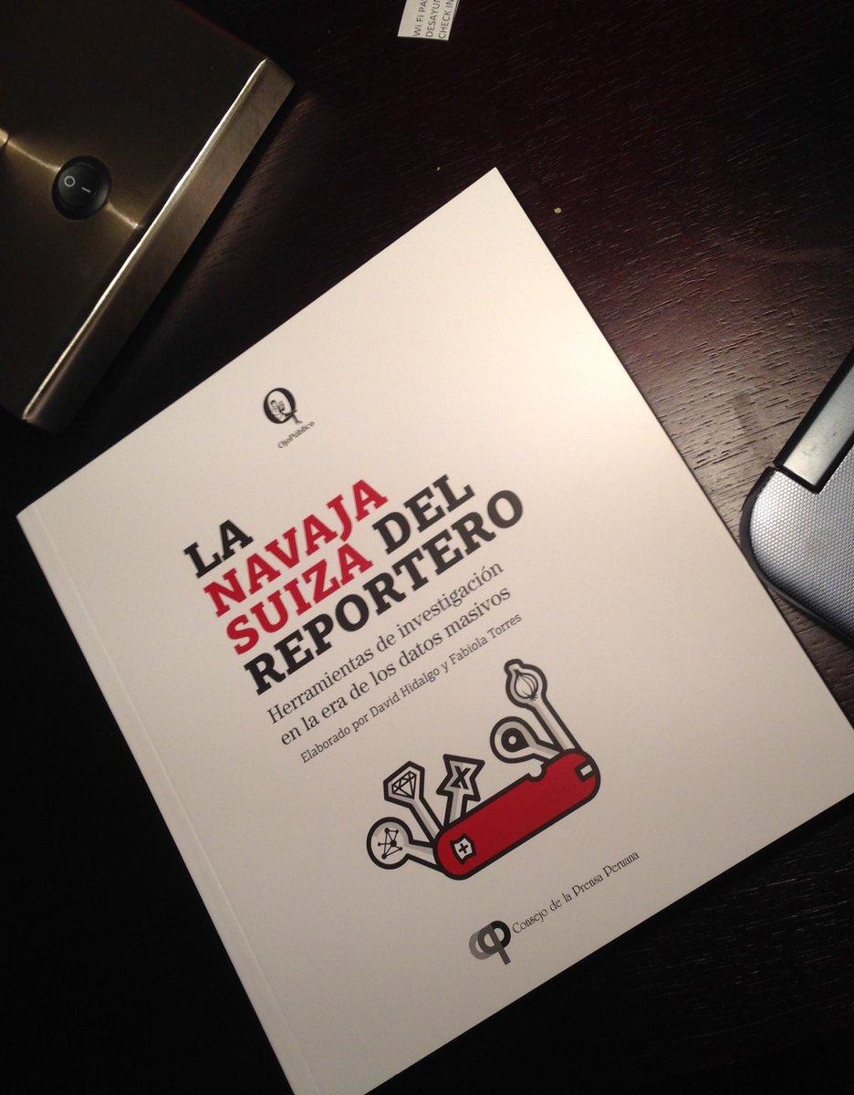 Un libro imprescindible para #periodismodatos: La Navaja Suiza de @Ojo_Publico descárguelo: https://t.co/ZOqAArO7SW https://t.co/mwO8koKF9B