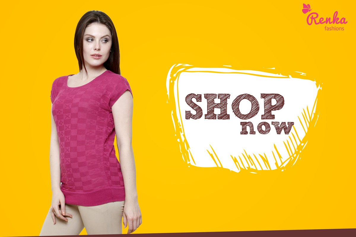 7c9bb7ad525d58 #Renkafashions Product Of The Week Shop Now - http://www.amazon.in/Renka-Pink-Round-Neck-Wo  ……/…/ref=sr_1_1… Available on #flipkart #jabongpic.twitter.com/ ...