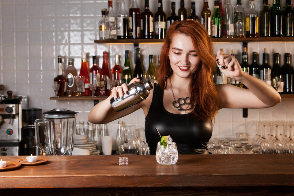 Busty barmaid ban 8