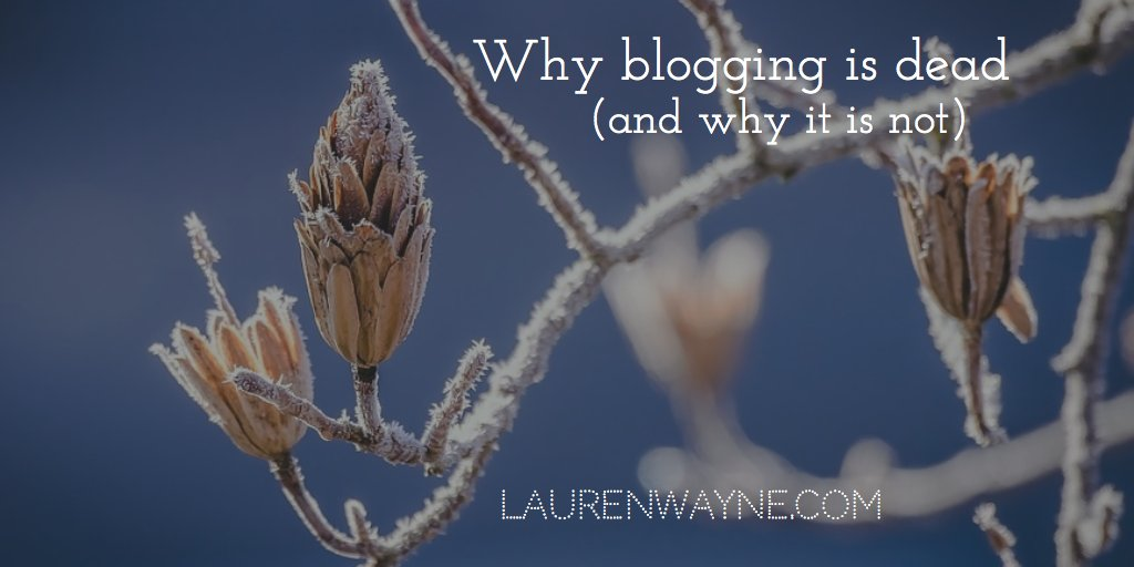 Have you lost your #blogging spark? How & why blogging has changed, & how you can keep up: https://t.co/z0KC9QJY3n https://t.co/o8ujAxjXHk