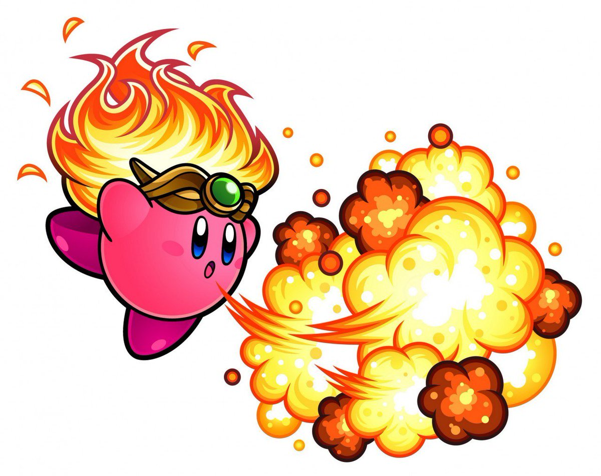 Kirby Facts On Twitter Its Less Stylized Than Mass Attacks But Super Star Ultras Promo Art Is Top Tier