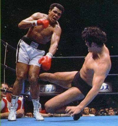 Quella volta di Muhammad Ali vs Antonio Inoki (FOTO e VIDEO)