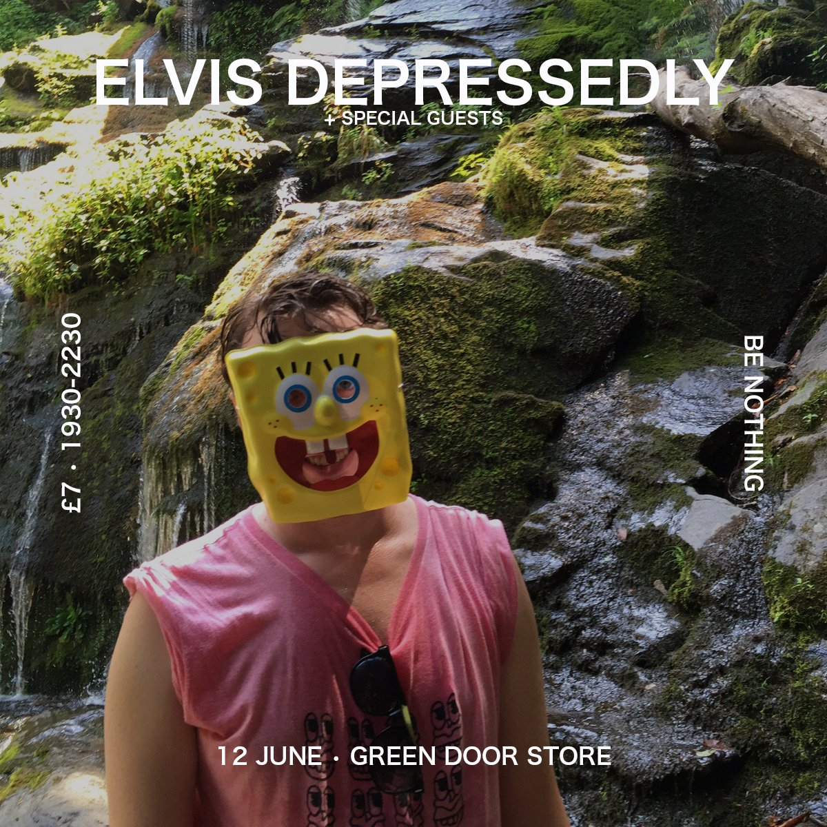 TONIGHT: Elvis Depressedly +@porridgeradio @Max_of_cats  1900-2230 / £7 / cash only bar c/o Chris Green/@BE_NOTHING https://t.co/kCZLFnNGUV